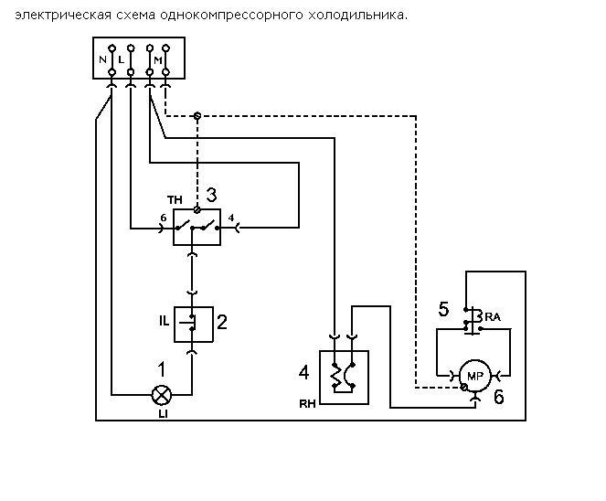 Холодильник Ardo (ардо) схема